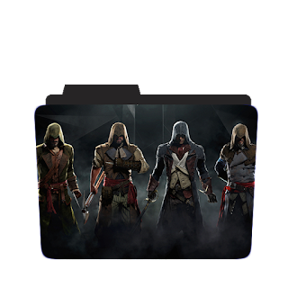 Assassign 's Creed Game Folder icon