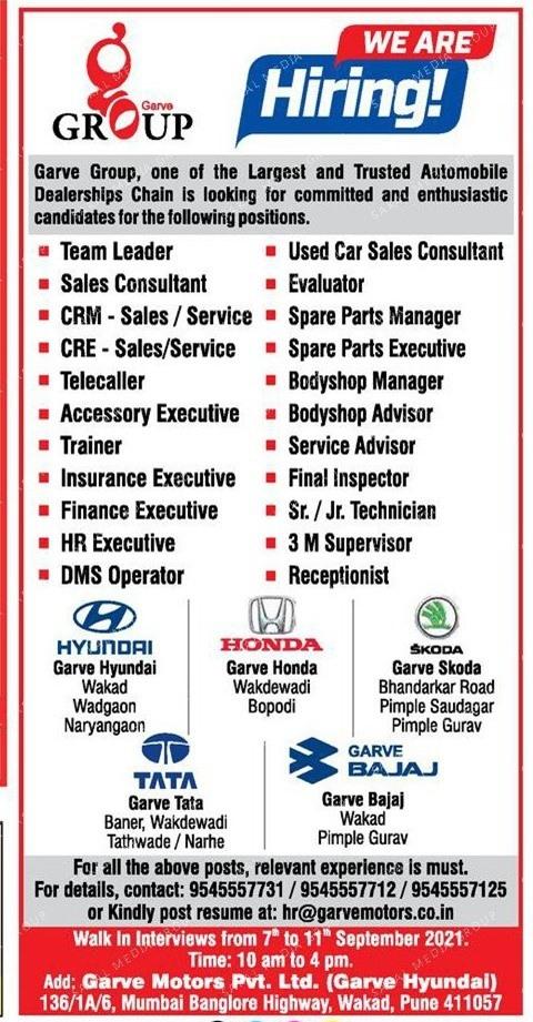 Garve Group Recruitment