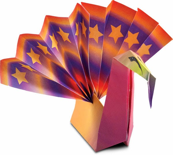 Thanksgiving Turkey Origami