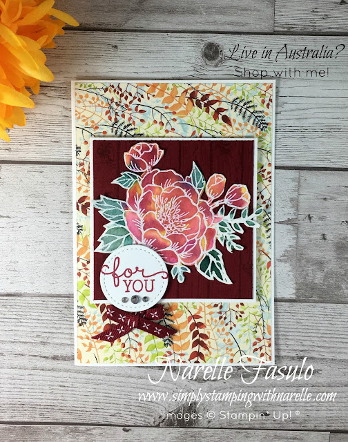 Birthday Blooms and Watercolouring - Simply Stamping with Narelle - shop here - https://www3.stampinup.com/ecweb/default.aspx?dbwsdemoid=4008228