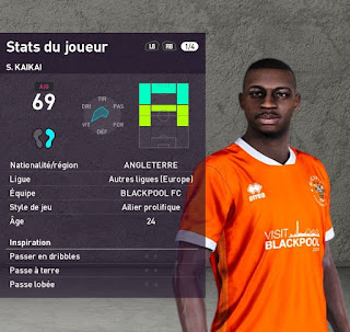PES 2020 Faces Sullay Kaikai by TiiToo