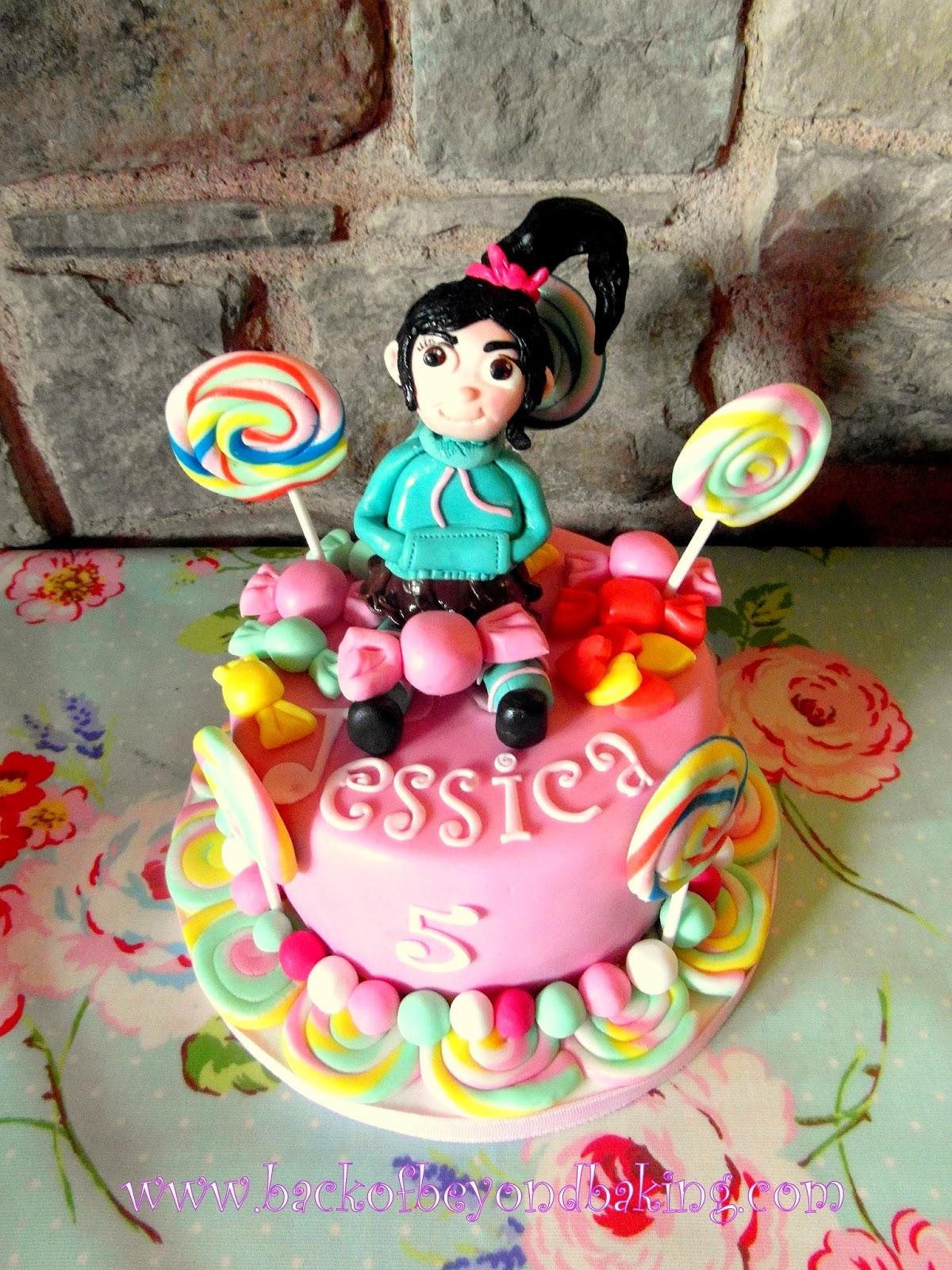 Vanellope von sweetz cake