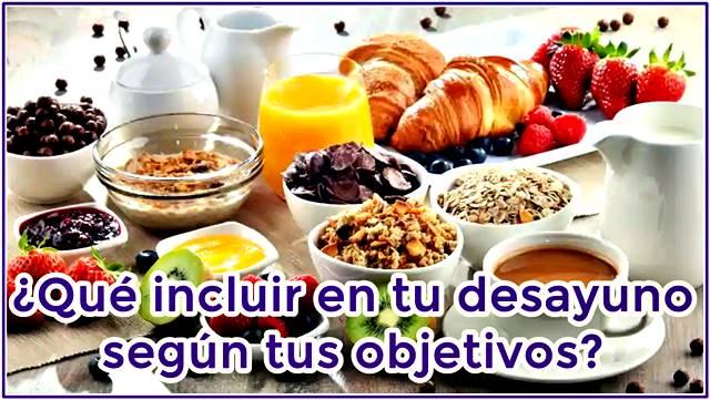 Ejemplos de desayunos pre entrenamiento