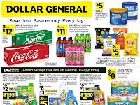Dollar General Ad August 8 - 14, 2021 and 8/15/21