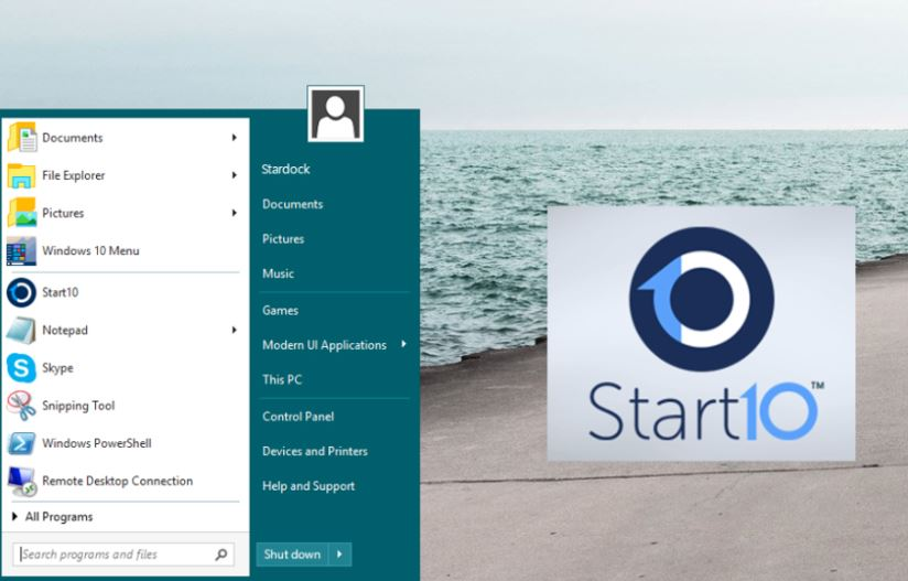 Download Stardock Start10 Full - Tùy biến Menu Start windows 10