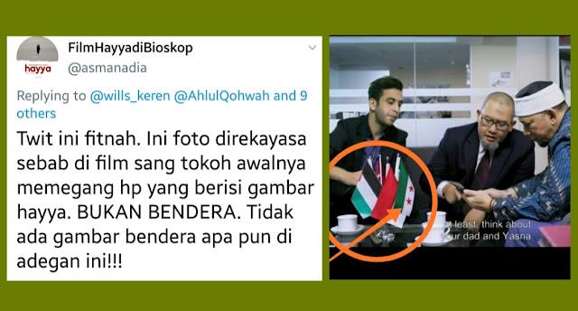 Asma Nadia Hapus Twit yang Sebut Bendera Pemberontak Suriah di Film Hayya Fitnah, Ada Apa?