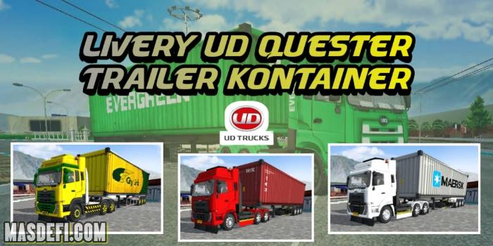 livery ud quester trailer kontainer