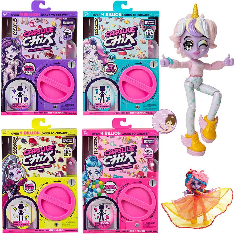 Capsule Chix Moose Toys