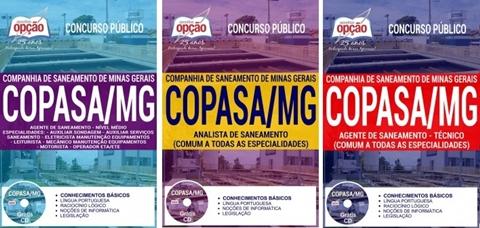 Apostila Companhia de Saneamento de Minas Gerais 2018