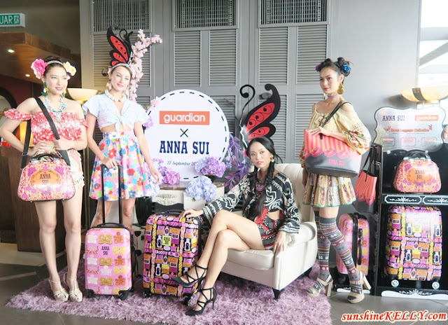 Anna Sui Designs Travels Bags Exclusively for Guardian Malaysia