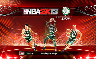 NBA 2K13 Boston Celtics Retro Big 3 Loading Screen Mod