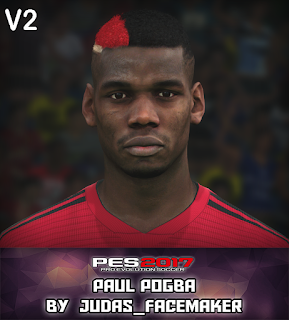 PES 2017 Faces Paul Pogba by Judas