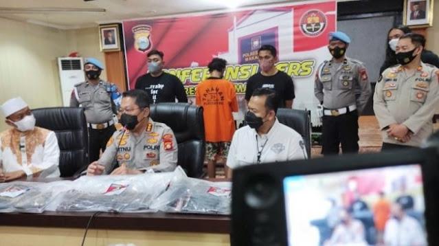 Polisi Ringkus Pelaku Pembakar Mimbar Masjid Raya Makassar