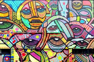 Street Art : dAcRuZ, portrait d'un artiste militant, le quartier de l'Ourcq en couleurs