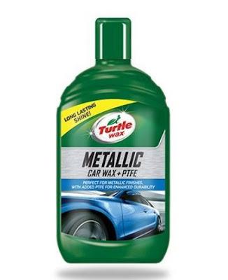 TURTLE WAX METALLIC CAR WAX + PTFE