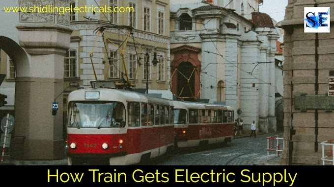 How Electric Train Gets An Electric Supply