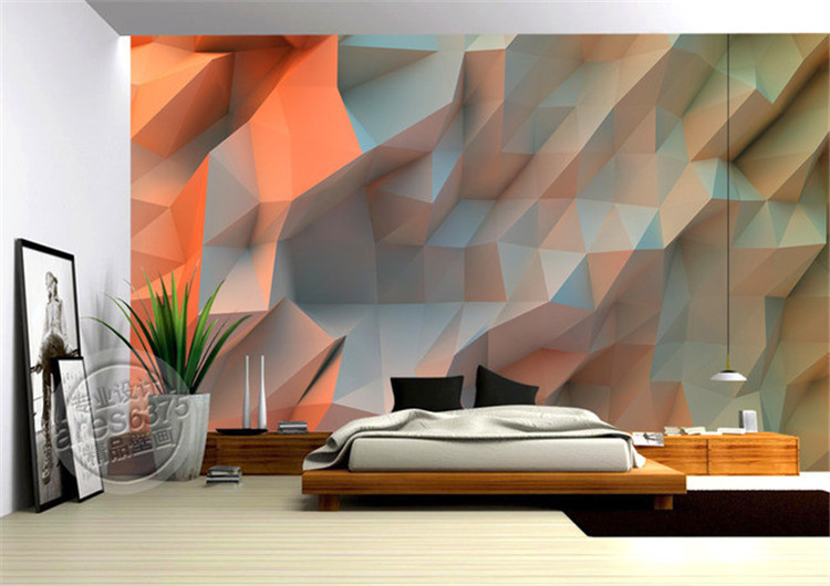 Create The Atmosphere Of Love, Nature, Romance Forever In Your Bedroom By  Just Putting Up 3D Wallpaper Over The Headboard Wall. It Is Like.. Look  Different, ...