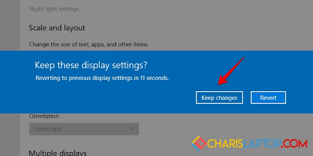 Cara Mengembalikan Layar Windows 10