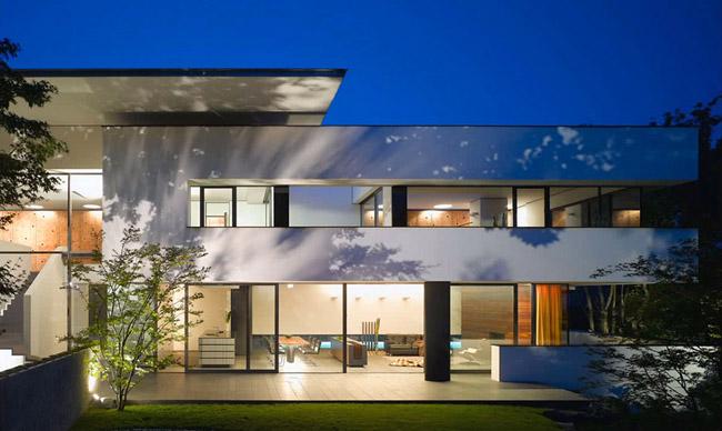 Casas minimalistas y modernas casa minimalista de 2 pisos for Casa minimalista 2 plantas