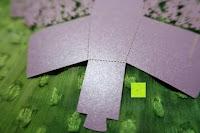 zoomen: 50pcs Wedding Candy Boxes Butterfly Laser Cut Kartonage Schachtel Bonboniere Geschenkbox Hochzeit (Purple)