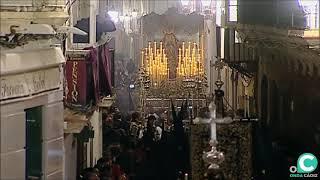 María Santísima de los Dolores por la Calle Montañés. Semana Santa Cádiz 2019