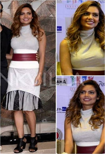 Spotted: Esha Gupta in INTOTO shoes