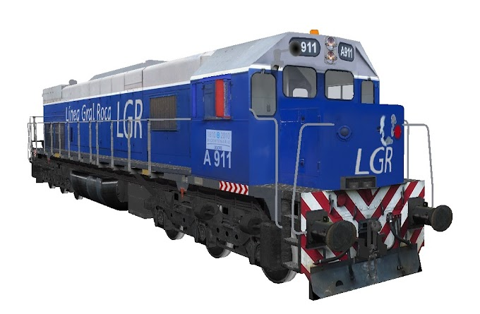 EMD GT22CW-2 A911 - UGOFE LGR