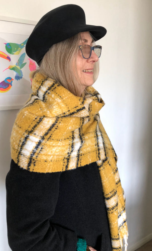 Over 70s style blogger Penny from Frugal Fashion Shopper