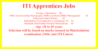 ITI Apprentices Jobs in SJVN Limited