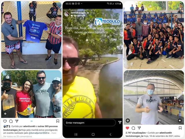 ATUANTE - Com presença nas ruas e nas redes sociais, Teódulo Aragão estreita seu mandato com as demandas da comunidade