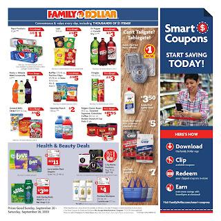 ⭐ Family Dollar Ad 9/27/20 ⭐ Family Dollar Weekly Ad September 27 2020