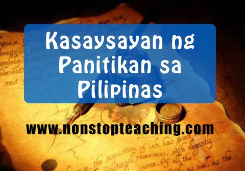 Kasaysayan ng Panitikan sa Pilipinas