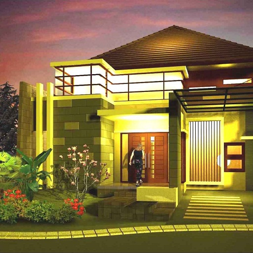 Model Rumah Mewah Lantai 1 Yang Terlihat Elegan Ardiba Sefrienda S Story