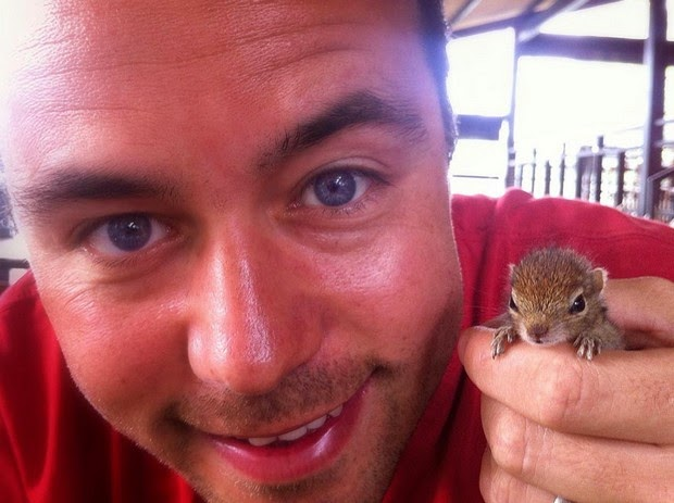 Baby Palm Squirrel Rescued By Wildlife Filmmaker