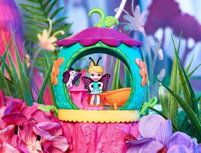 Мини куклы Энчантималс бабочки и жуки