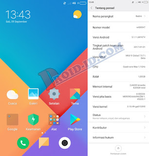 Rom MIUI 9 Global Beta v7.9.15 Andromax A (A16C3H)
