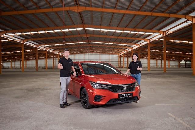 Honda City Hatchback RS Muncul, Warga Medan Antusias