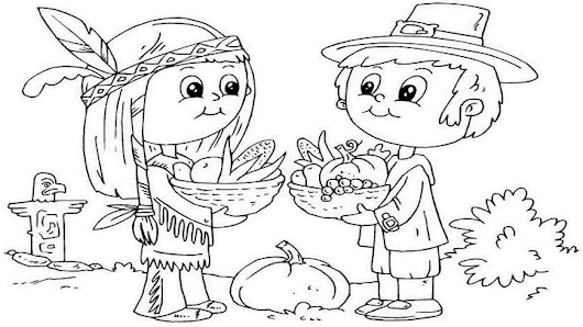 Happy Thanksgiving 2017 Coloring Pages, Sheets, Pictures Free Printable