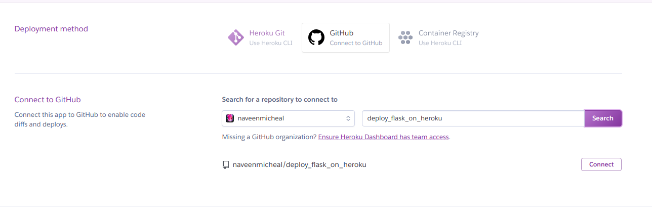 Deploy Flask app on Heroku with example guide