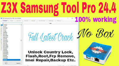 Z3X Samsung Tool Pro 2020 | Latest Version | Without Box | Download | Installation