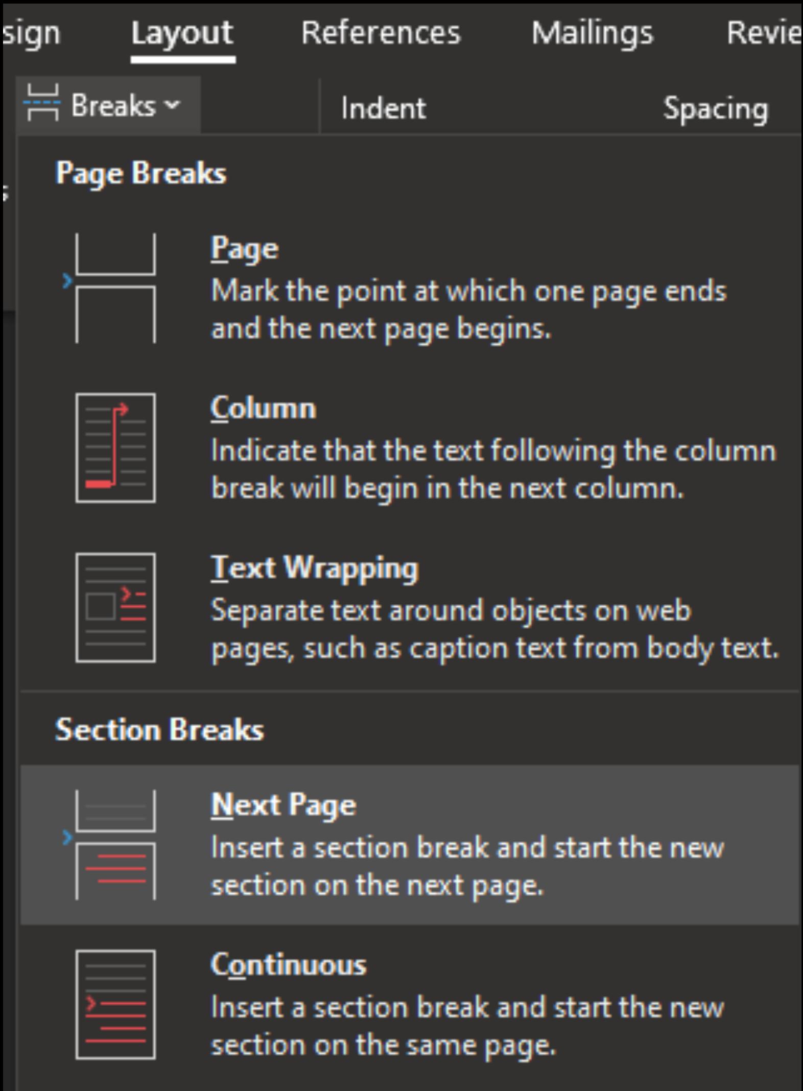 Cara Membuat Nomor Halaman Berbeda Dengan Mudah (Skripsi ...