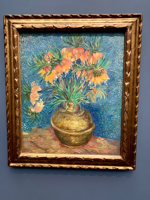 Van Gogh's Fritillaries in a Copper Vase