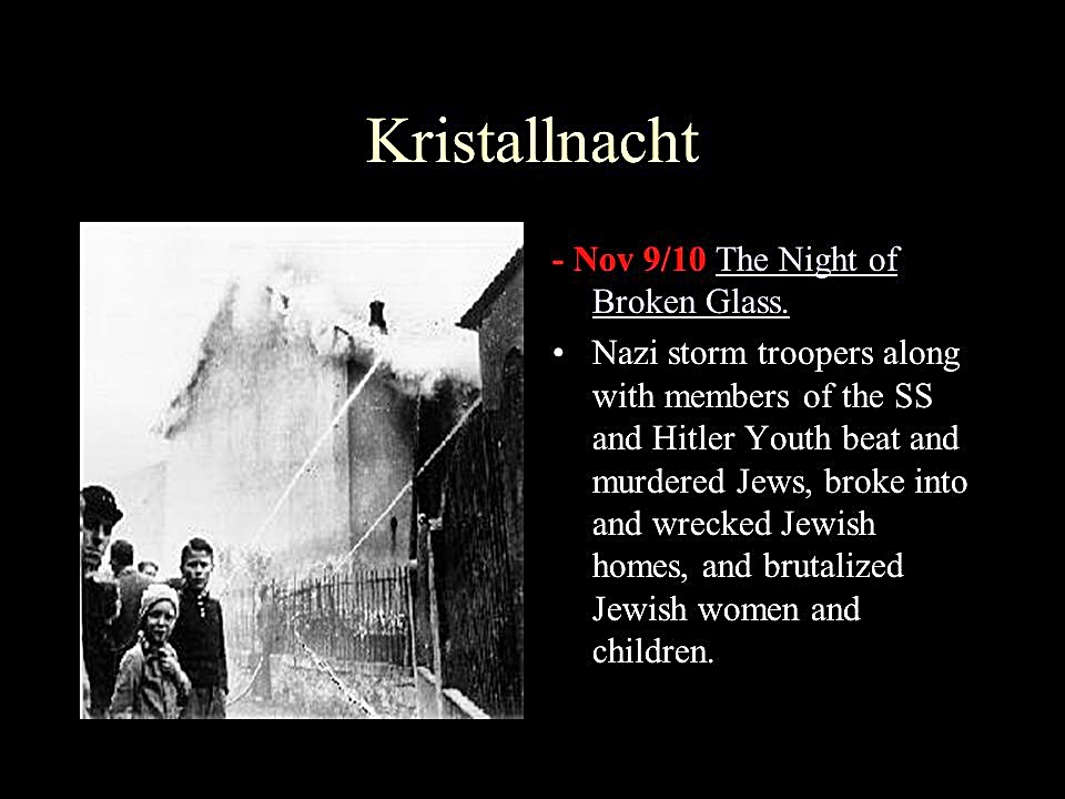 kristallnacht propaganda