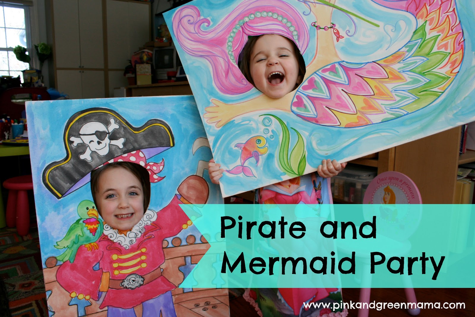 Pink And Green Mama Birthday Party Highlights Pirates