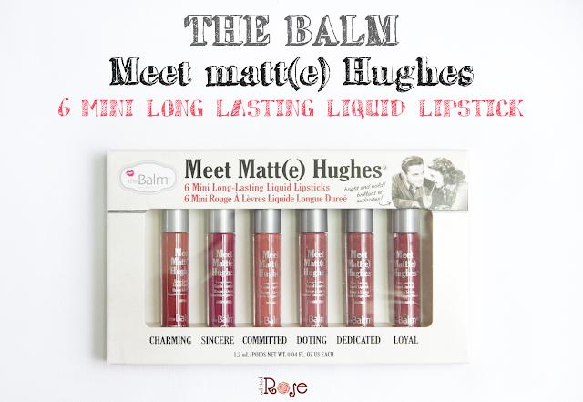 The Balm meet matte hughes