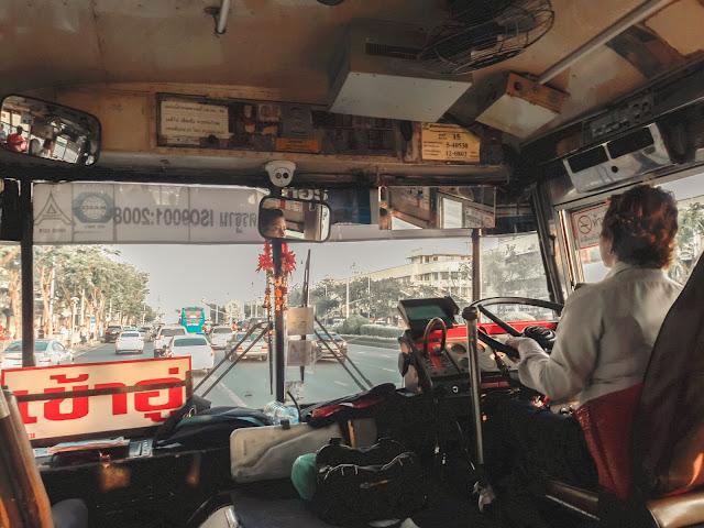 transportasi selama di bangkok