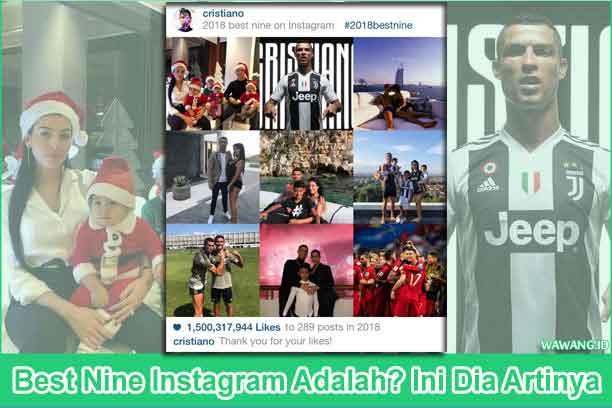 best nine instagram adalah