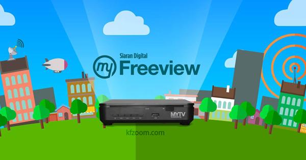 MyFreeView - MYTV Siaran TV Digital Percuma Malaysia - KFZoom