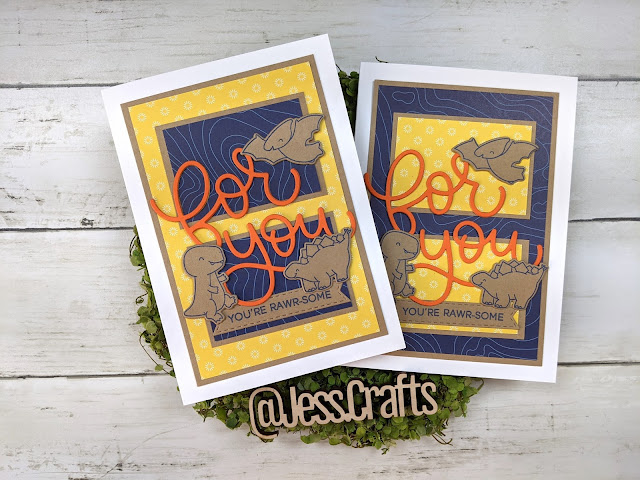 Card for 5x7 One Sheet Wonder Template #1 by Jess Crafts