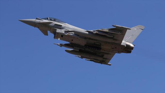 Cazas británicos se unen a la OTAN en el mar Negro ante Rusia